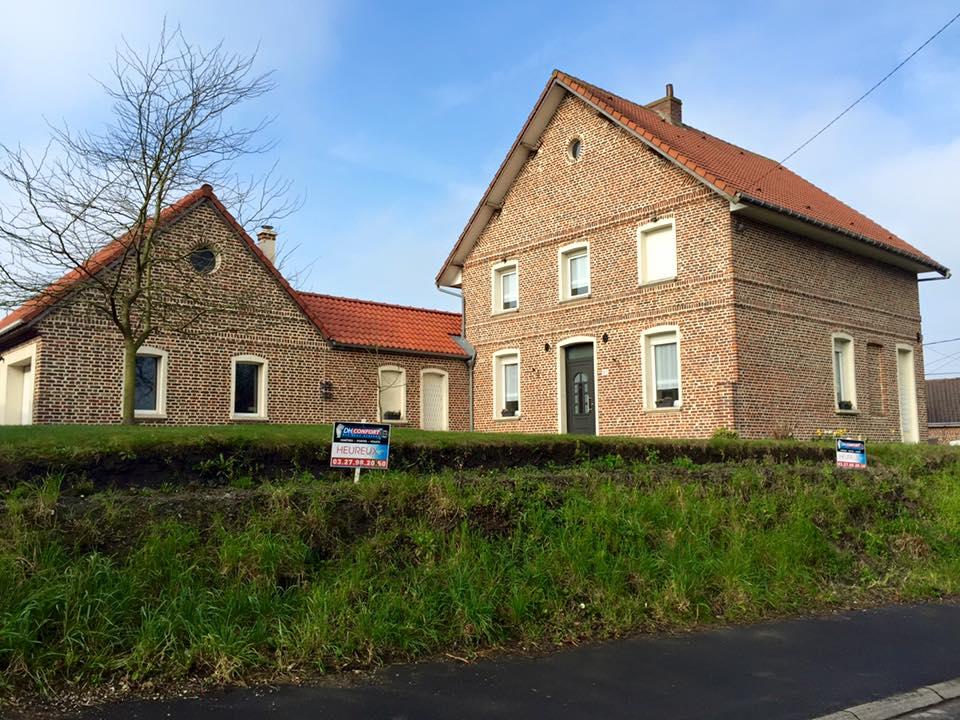 Porte d'entée Fenêtres DH Confort© - Cambrai - Arras - Douai - Valenciennes - Péronne - Saint-Quentin