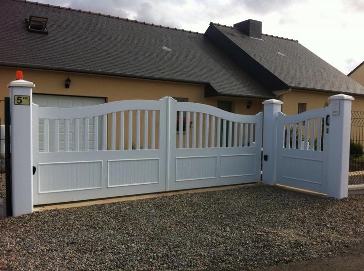 Portails PVC DH Confort© - Cambrai - Arras - Douai - Valenciennes - Péronne - Saint-Quentin