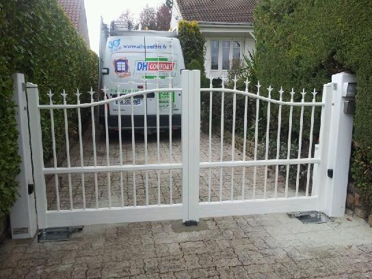 Portails alu DH Confort© - Cambrai - Arras - Douai - Valenciennes - Péronne - Saint-Quentin