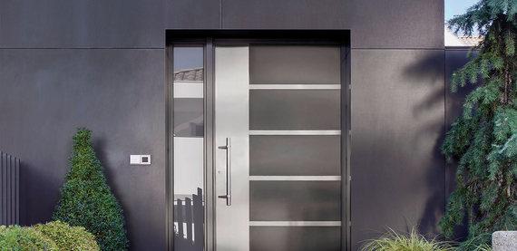 Portes Aluminium DH CONFORT © Cambrai - Arras - Douai - Valenciennes - Péronne - Saint-Quentin